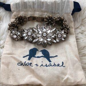 Chloe + Isabel champagne gold bracelet